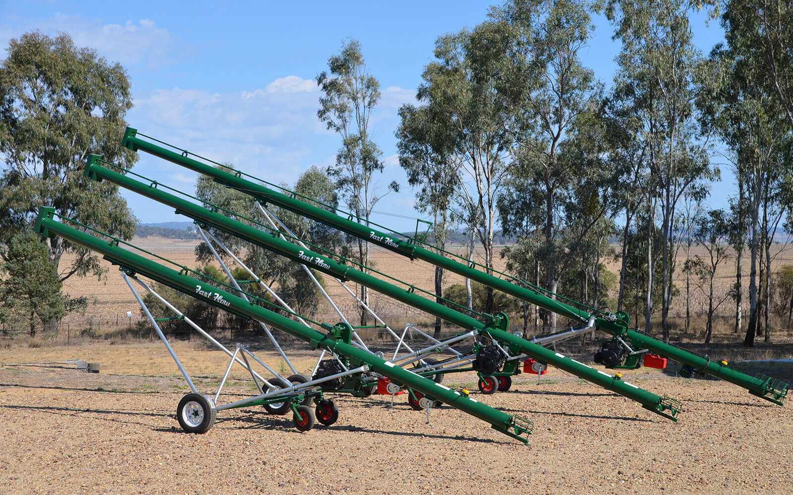 Three FF augers